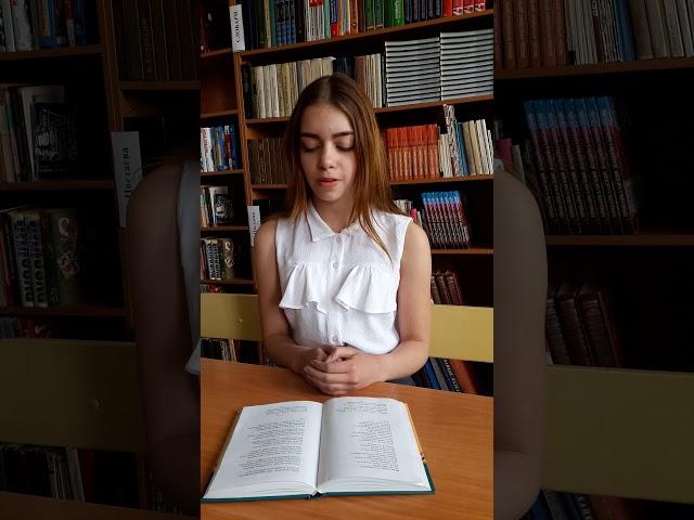 Изображение предпросмотра прочтения – АленаКрыгина читает произведение «Майор привез мальчишку на лафете» К.М.Симонова