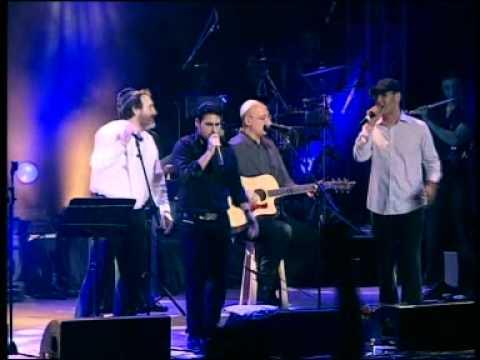 גד אלבז בהופעה חיה בקיסריה - אנא בכוח  Gad Elbaz Live In Caesarea - Ana Bechoach