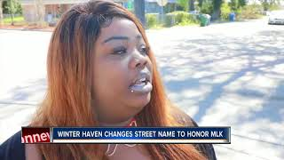 Winter Haven thoroughfare to be named after Dr. Martin Luther King Jr.