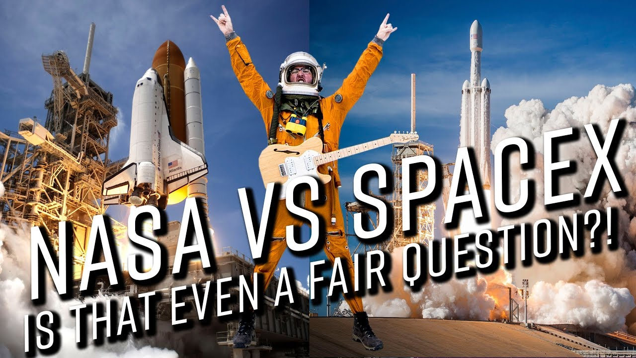 SpaceX VS NASA: Is that even a fair question?!?! - YouTube