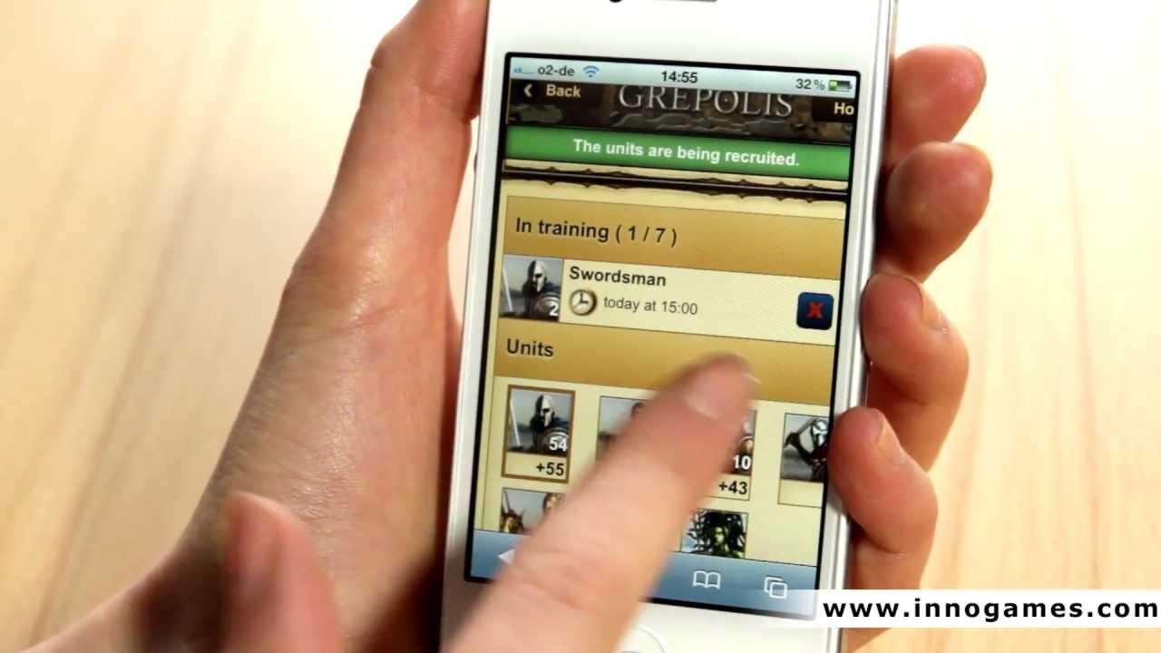 Grepolis Mobile