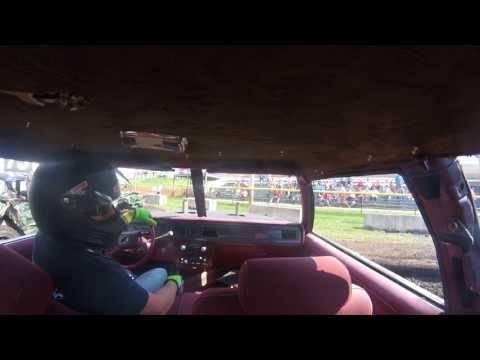 DuPage County Fair Demo Derby BS Day Feature Joe Jackson In Car