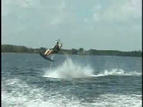 hydro chair water ski metal butterfly flying the air professional way youtube