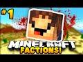 """Minecraft FACTIONS """"MY FIRST HEAD!"""" #1 - w/PrestonPlayz & MrWoofless"""
