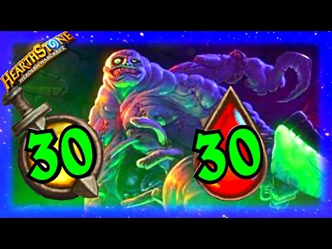 30 30 Sludge Belcher ~ Hearthstone Heroes of Warcraft Blackrock Mountain