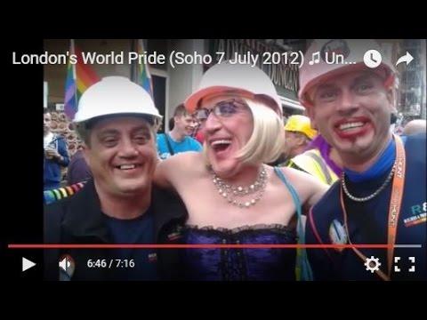 London's World Pride (Soho 7 July 2012) ♫ Underworld