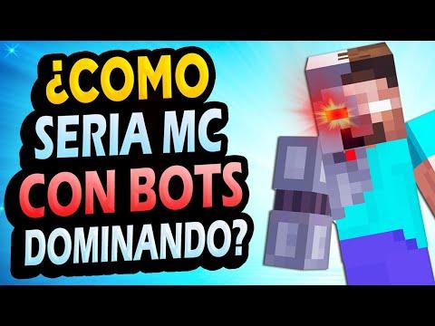 ¿Qué Pasaría si los BOTS Dominan Minecraft?