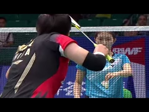 Finals - WD - Wang XL./Yu Y. vs Eom H.W./Jang Y.N. - 2013国际羽联世界锦标赛