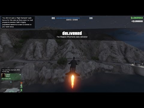 GTA 5 Gunrunning DLC (Selling FULL Stock From Bunker $1,050,000)
