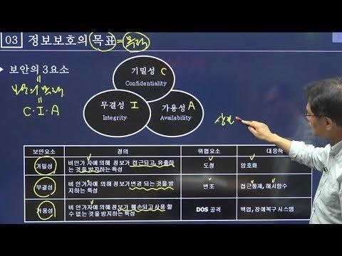 [에듀마켓] 9급공무원 2020년 전산직 시험 대비 정보보호론 - 김대영T의 정보보호론 1강