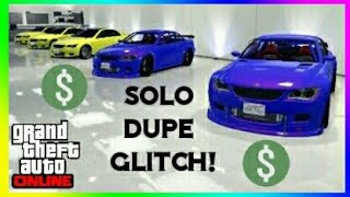 GTA Online *EASY* Solo Unlimited Car Duplication Glitch | Car Duplication Glitch 1.45 [PS4, X1, PC]