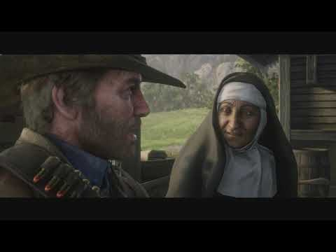 Arthur Tells Sister He's Sick - Red Dead Redemption 2 (Chapter 6)