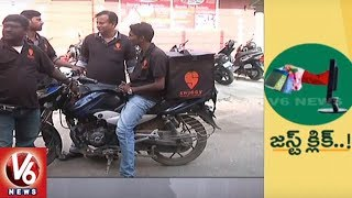 People Shows Interest On Online Shopping | Special Report | V6 News