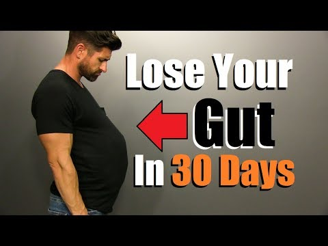 Lose Your GUT In 30 Days | 5 Steps To JUMPSTART Fat Loss