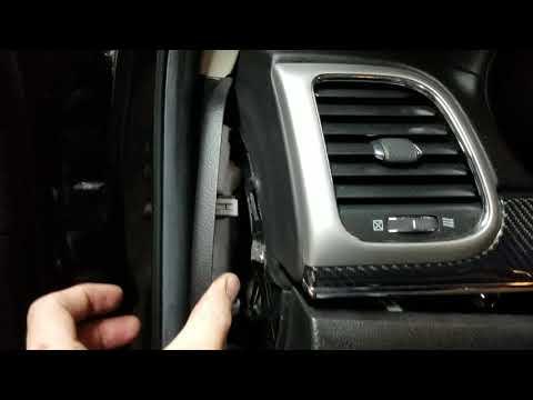 Grand Cherokee Srt8 Carbon Fiber Trim Removal