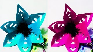 Tutorial Easy Flower Making at Home Simple and Easy DIY Flower || Crafts Design