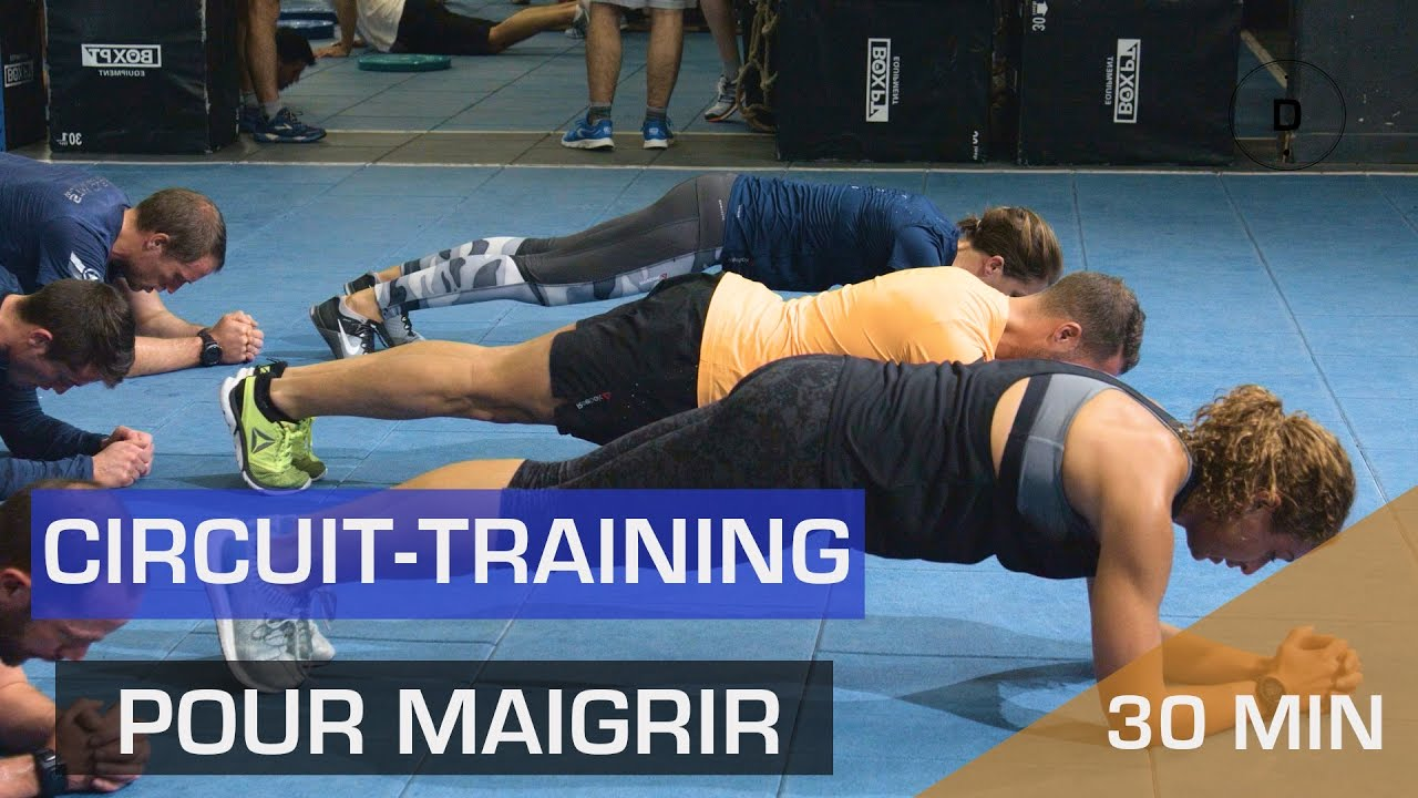 hiit pour maigrir circuit training youtube. Black Bedroom Furniture Sets. Home Design Ideas