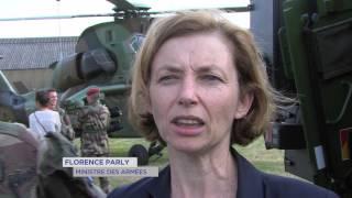 Versailles : La Ministre des Armées en déplacement à Satory