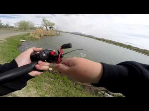 Bass Fishing Isleta Lakes New Mexico