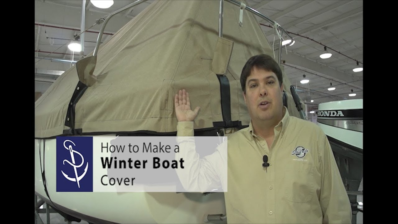 How to Make a Winter Sailboat Cover