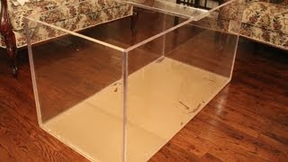 120 Gallon Acrylic Aquarium Build