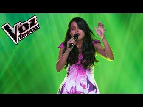 Laura canta 'Yo te esperaré' | Audiciones a ciegas | La Voz Teens Colombia 2016