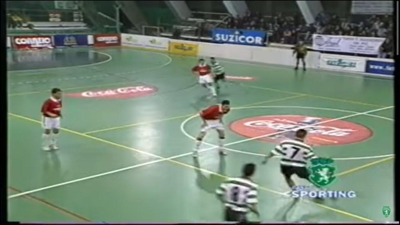 Futsal :: 10J :: Sporting - 2 x Correio da Manhã - 2 de 1998/1999