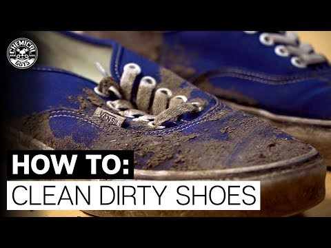 How To Clean REALLY Dirty Shoes! - Chemical Guys