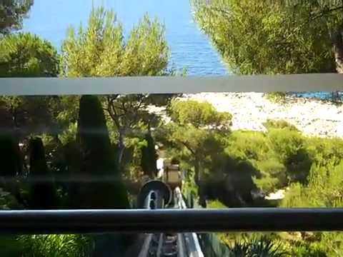 Funicular at Grand Hotel du Cap Ferrat, France