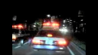 全盛期の神奈川県警VS暴走族 ケツ持ちに行く手を阻まれても潰し顔負けの運転でパトカー猛追尾❗️