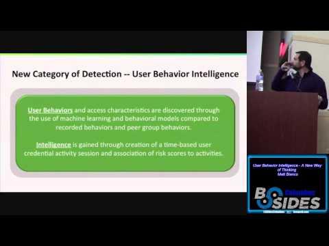 Offense00 User Behavior Analysis Matt Bianco