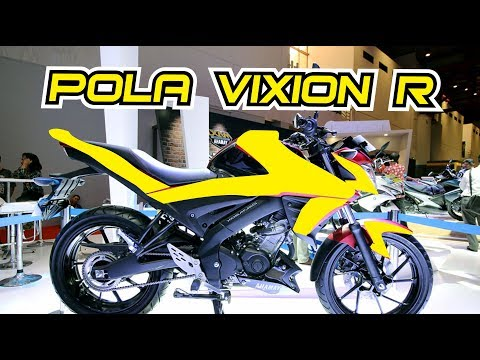 Cara Buat Pola Motor Yamaha Vixion R Youtube