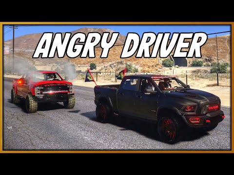 GTA 5 Roleplay - 'ANGRY' Ford Truck Driver Chased Me!! | RedlineRP #803