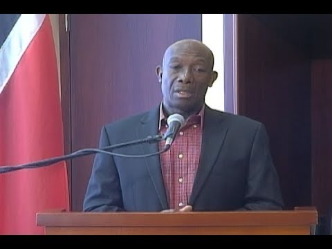 Prime Minister Dr. Keith Rowley's Press Conference - September 1st 2017