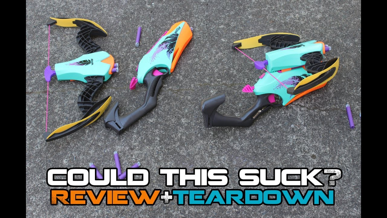 NERF REBELLE COMBOW - Better than you thought! (Review ...