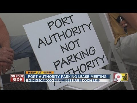 Port Authority holds meeting on parking leasing deal