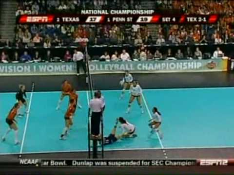 Penn State vs. Texas - 2009 NCAA Women