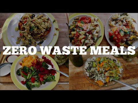 My Week In Zero Waste Meals
