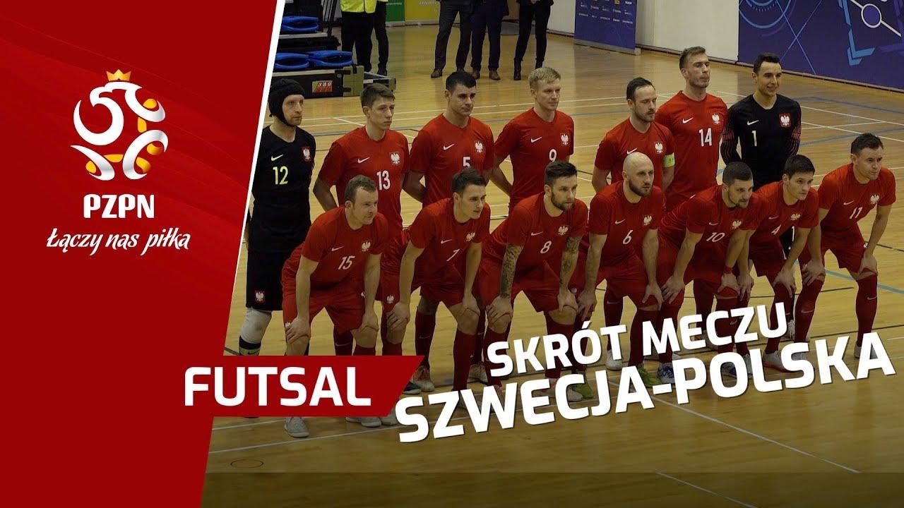 el. ME w futsalu: Skrót meczu SZWECJA - POLSKA (0:6)