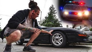 Building my dream studio pt.i /// Future drift car/// Arrested in front of my building