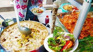 Tô bún mắm tôm thịt heo quay chỉ 25k ( chị mười 7 ngày 7 món ) | street food saigon