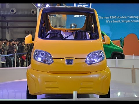 Cheapest car in india Bajaj RE60 Good looking With Good Hardware By Cars Technology