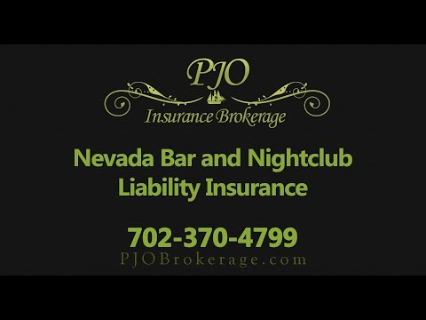 Bar and Nightclub Liability Insurance in Nevada | PJO Insurance Brokerage