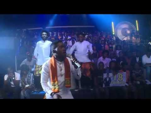 Kitay performing I Concur - Project fame 9