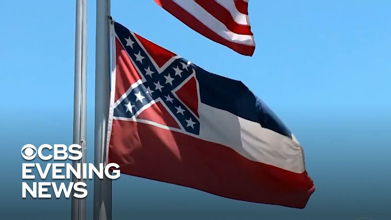 Mississippi flies new flag day after vote