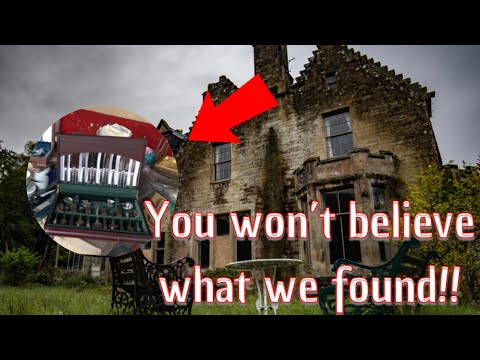 Abandoned 17 Bedroom Mansion Everything Left Behind!!