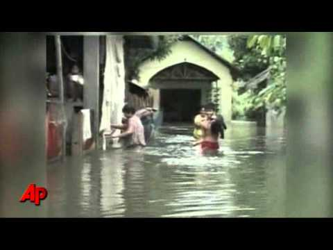 Raw Video: Deadly Storm Strikes Philippines