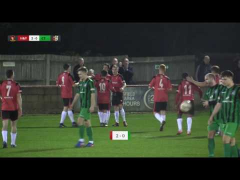 Hayes & Yeading v Cinderford Town - 4th April 2017