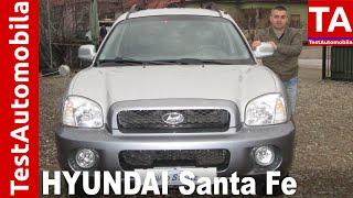 HYUNDAI Santa Fe 2.0 Diesel TEST - 2003