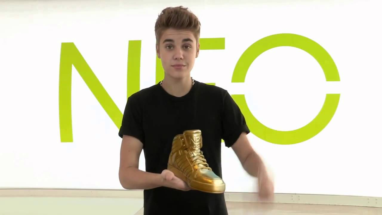 a51ee01af4 Justin Bieber Find My Gold Shoes (adidas NEO contest) - YouTube